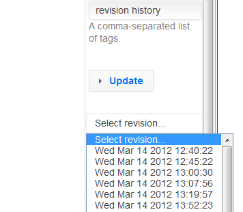 With local history, you never have to worry about losing your changes! All your saved revisions are stored.